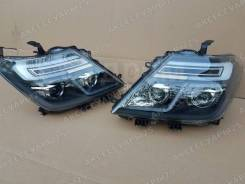 """Фары тюнинг LED Nissan Patrol Y62 (Патрол) 2010-2015 """"Black Style"""""""