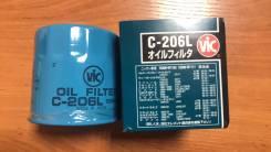 Фильтр масляный VIC Япония C-206L. Цена 400р