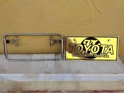 Оригинальная рамка Toyota под номерной знак