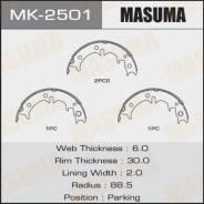 Колодки барабанные Masuma парковочные [к-т 4шт] (1/12). Артикул MK2501 MK2501