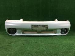Бампер передний Subaru Lancaster BHE bh9 B12 EZ30 2000г цвет 07C,081