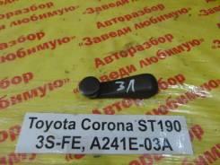 Ручка стеклоподъемника Toyota Corona Toyota Corona 1996, левая задняя