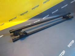"""Багажная система с дугами прямоугольными в пластике для а/м с низкими рейлингами 1,3м Subaru Forester/Outback 2009- """"NORD"""" INTEGRA-1"""