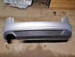 Бампер задний S-line Audi A4 B8 до рест