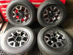 Оригиналы Suzuki Jimny 5,5J OFF+5 и шины 195/80R15 Bridgestone 2020 г