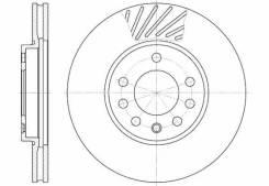 Диск тормозной (доставка 2-3 часа) [658410]