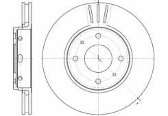 Диск тормозной Volvo s/v40 (доставка 2-3 часа) [658510]