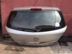 Крышка багажника серебро Opel Astra H 5d