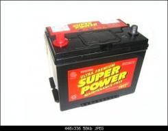 Super Power. 100А.ч., Обратная (левое), производство США
