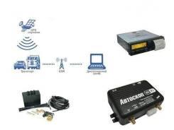 Установка спутниковых систем слежения.