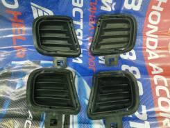Решётки в бампер боковые на Honda Accord CL CM, Рестаил, 2я модель