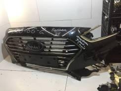 Решетка радиатора [86350E6710] для Hyundai Sonata VII [арт. 508166-2]