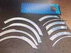 Хромированные накладки на арки колес Hyundai Santa Fe 2010-2012 [A539]