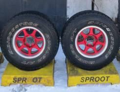 Bridgestone Dueler A/T 694. грязь at, б/у, износ 20%