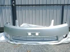 Бампер передний Toyota Corolla / Fielder NZE121 цвет серебро 04-06 год