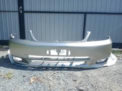 Бампер передний Toyota Corolla Fielder NZE121 цвет 1D9 серый