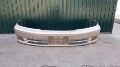 Передний бампер в сборе с туманками на Toyota Mark II Wagon Qualis