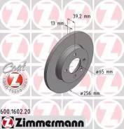 Диск тормозной (заказывать 2шт. /цена за1шт. ) VAG с антикоррозионным покрытием Co Zimmermann [600160220]