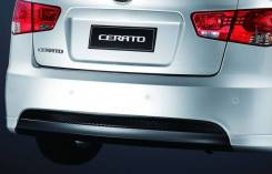 Накладка заднего бампера нижняя Kia Cerato 09- Aero