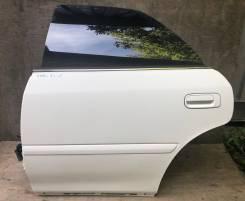 Дверь задняя левая (цвет 040) Toyota Chaser JZX100 GX100