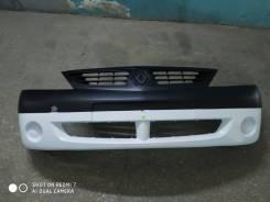 Бампер Renault Logan 05-10 г. в. новый, белый