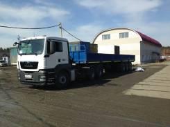 Atlant. Продается полуприцеп бортовой контейнеровоз SWH 1235, 35 000кг.