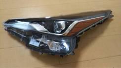 Фара левая Toyota Prius 50 Рестайл Япония Оригинал 47-104 ZVW50, 2ZRF