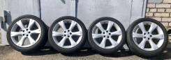 Оригинальные диски Subaru с резиной Bridgestone 215/45 R17