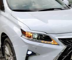 Фары Lexus RX350/RX270/RX450h 2012-2015 ДХО. Дин-кие пов-ки