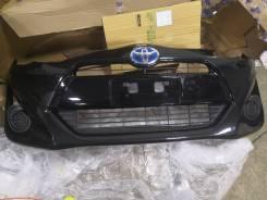 Бампер Toyota AQUA, передний NHP10, 1Nzfxe, /Prius C, год 2015 - 2017.