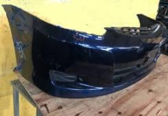 Передний синий бампер в сборе Toyota Wish 2005-2009