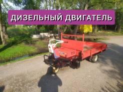 Yanmar. Самоходная тележка, телега, мини самосвал, самосвал TDA181S C, 5 л.с.