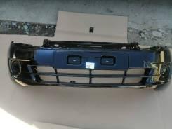 Бампер передний Lada Granta 2190, цвет чёрный трюфель