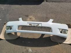 Передний бампер Toyota Altezza SXE10 GXE10 белый из Японии