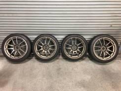 "Комплект колёс Work CR-Kai R18 с резиной. 8.5/9.5x18"" 5x114.30 ET37/30 ЦО 73,3мм."