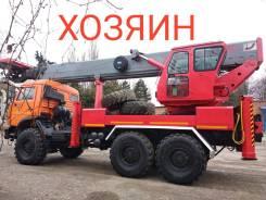 Sein. Автовышка 45 метров, на шасси КамАЗ вездеход 2011 г., 10 850куб. см., 45,00м.
