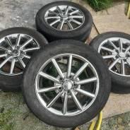 Литье Nissan + летние шины 205/55/R16