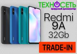 Xiaomi Redmi 9A. Новый, 32 Гб, 3G, 4G LTE, Dual-SIM