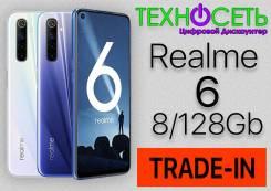Realme 6. Новый, 128 Гб, 3G, 4G LTE, Dual-SIM, NFC. Под заказ