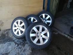 Продам недорого комплект колёс на Пежо- 308, Bridgestone 215/55 R16