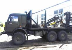 КамАЗ 4310. Камаз с гидроманипулятором для погрузки леса