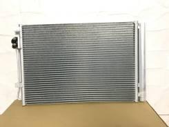 Радиатор кондиционера (конденсер) для Hyundai Solaris 1 Kia Rio 3