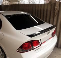 Лип спойлер на багажник Honda Civic 4D (Хонда Цивик 4Д) 2006-2012г