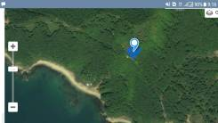 Земельный участок район мыс. Непреступный. 3 000кв.м., собственность. План (чертёж, схема) участка