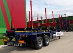 Steelbear. Полуприцеп-сортиментовоз усиленный рессорно-балансирный, 34 500кг. Под заказ