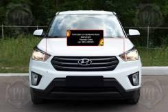 Защита фар прозрачная. Hyundai Creta, GS G4FG, G4NA