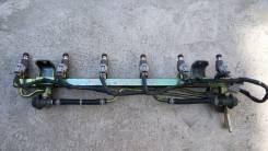 Топливная рейка в сборе с форсунками (RB25DE Neo)