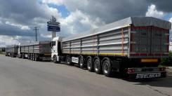 Steelbear. Полуприцеп зерновоз 60м3 с задними распашными воротами , 35 800кг. Под заказ