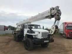 Челябинец КС-55733. Продам кран 32 тонны на базе Урал, 11 150куб. см., 30,20м.