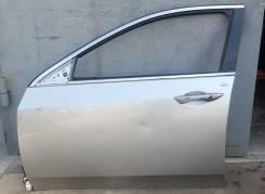 Дверь передняя левая Хонда Аккорд 8 в сборе